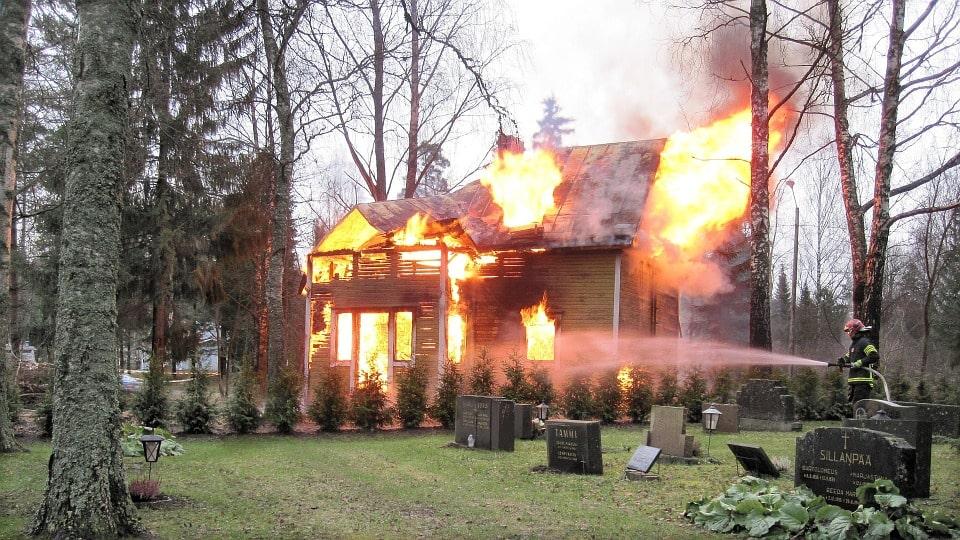 porte coupe feu incendie