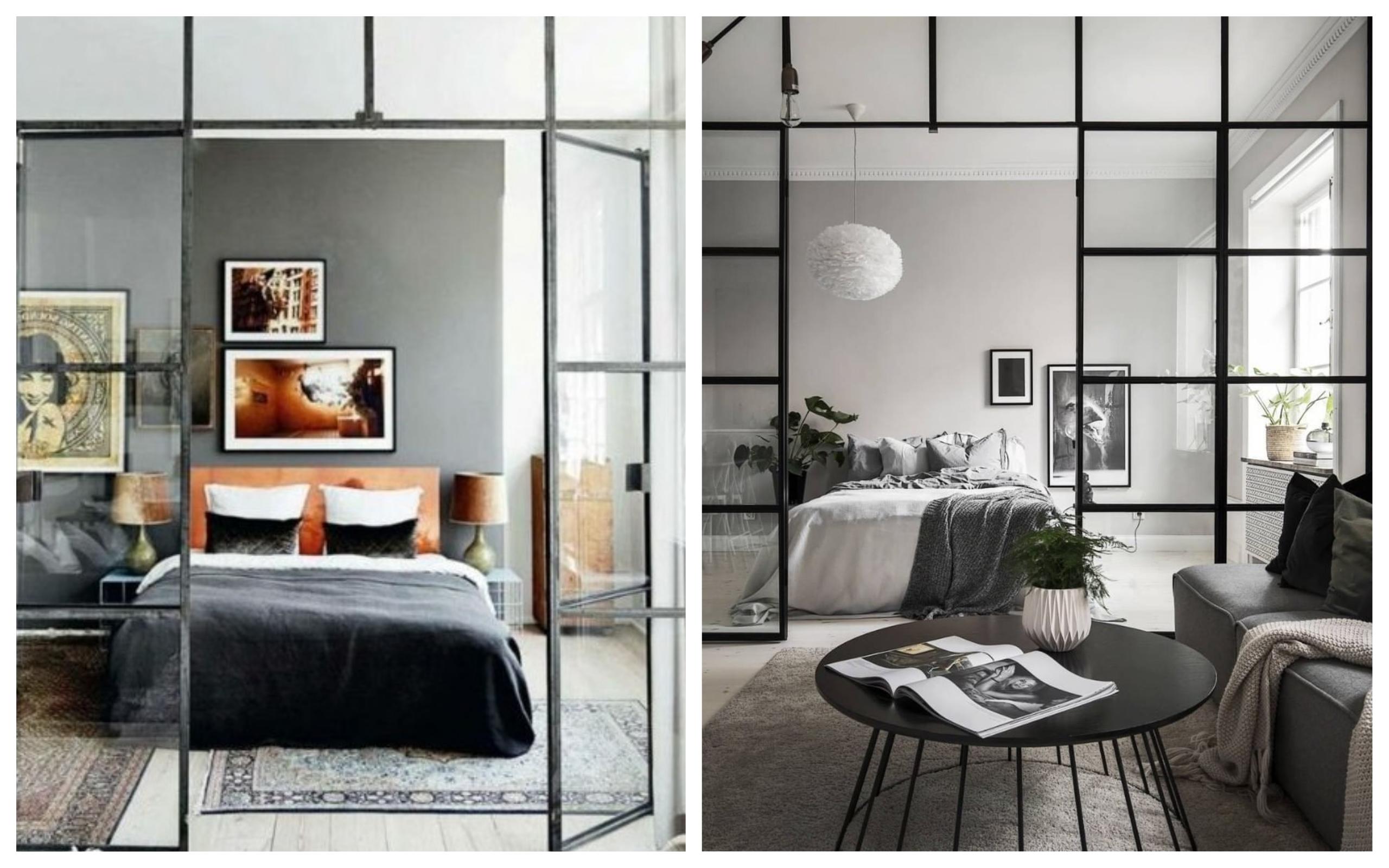 Porte De Chambre Avec Vitre porte intérieure vitrée: la tendance en images! - economie